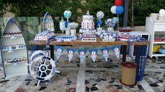 Tarta y mesa de dulces en balneario illetas beach club