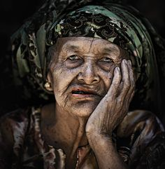 the old women by abe less, via 500px