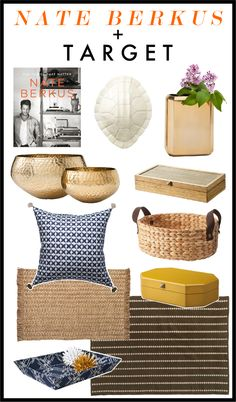 Kelly Market: NATE BERKUS + TARGET  /  there are rumors this collection was a flop... but the pieces are so pretty... bad execution at Target's manufacturers perhaps?
