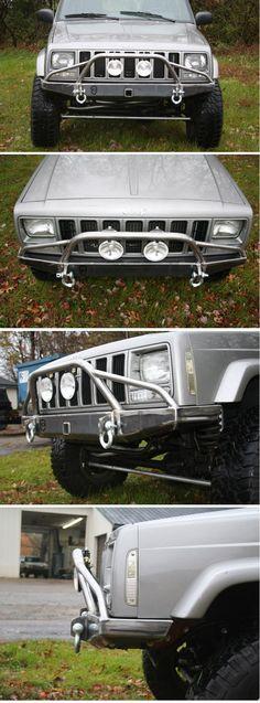 Cherokee Front Bumper - JCR Offroad
