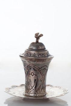 Iraqi Antique Judaica Kiddush Cup Wedding Sterling Silver Iraq 19th Century | eBay