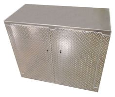 4 Foot Standard Diamond Plate Aluminum Base Cabinet! MADE IN THE USA!