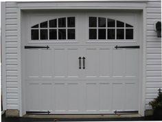 Amarr Garage Doors Classica amarr classica® cortona garage door in true white with madeira