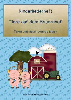 Tiere auf dem Bauernhof 1. | német | Pinterest | Kindergarten ...