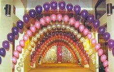 Résultats de recherche d'images pour «Arco de globos colorido»