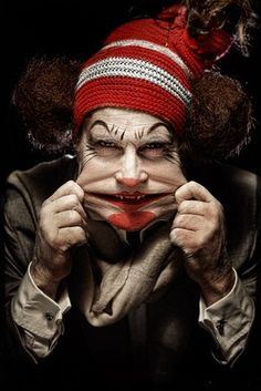 Eolo Perfido, clown series