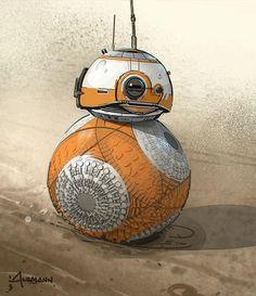 Star Wars VII Concept Art – ILM dévoile de magnifiques dessins préparatoires