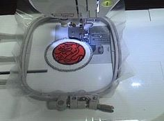 How to make patches with a home embroidery machine