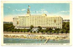 Edgewater Gulf Hotel, Biloxi, Mississippi, site of the 1935 NPC meeting.