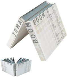 Irma Boom -- turning book design on its head!