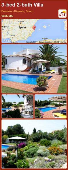3-bed 2-bath Villa in Benissa, Alicante, Spain ►€365,000 #PropertyForSaleInSpain