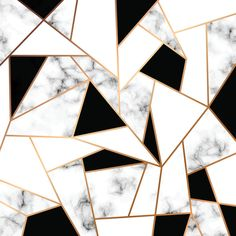 Vector Marble Texture Design With Golden Geometric Lines, Black And White Marbling Surface, Modern Luxurious Background Stock Vector - Illustration of black, natural: 117469440 Vinyl Wallpaper, Wallpaper Rose, Geometric Wallpaper, Design Online Shop, Honeymoon Hotels, Marble Texture, 3d Warehouse, Marble Mosaic, Home Decor