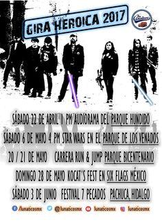 Tras una exitosa presentación el pasado sábado 8 de abril se ha estrenado en línea el tercer videoclip y sencillo de la banda intergaláctica The Lunáticos.