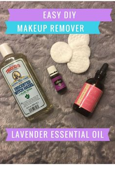 Say good bye to chemical drenched make up wipes ! Easy DIY Make up remover using Young living essential oils & Witch hazel http://www.talkingwithtwinkles.com