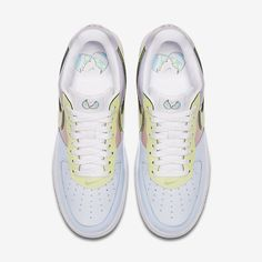 buy popular 32a82 9fe86 Chaussure Nike Air Force 1 Pas Cher Homme Low Retro Titane Rose Tempete  Vert Citron Glace