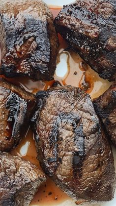 Whiskey Balsamic Steak