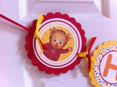 Daniel Tiger banner by BerrySweetParties on Etsy, $25.00