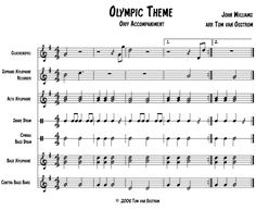 """FREE: Olympic Theme"""" Accompaniment for Orff Instruments 