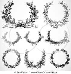 I'm really loving laurel wreath tattoos.