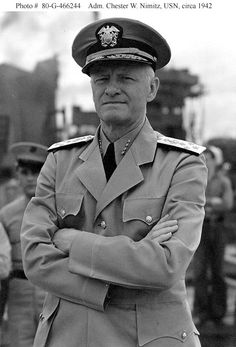 """""""A ship is always referred to as """"she"""" because it costs so much to keep one in paint and powder"""". ~ Chester Nimitz"""