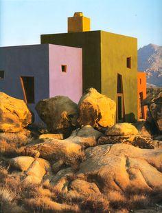 Josh Schweitzer | Casa cerca del Parque Nacional de Joshua Tree | California | 1990