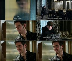 """There's no way I'm going anywhere with a dirty pirate."" Henry and Hook - 4 * 10 ""Shattered Sight."""