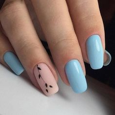 Spring nails are cute yet fashionable. Find easy latest spring nail designs, ideas & trends in spring coffin nails, acrylic nails and gel spring nail colors. Simple Acrylic Nails, Summer Acrylic Nails, Best Acrylic Nails, Summer Nails, Nail Ideas For Summer, Cool Nail Ideas, Diy Ideas, Fall Nails, Creative Ideas
