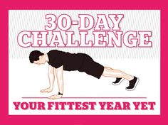 """The """"Your Fittest Year Yet"""" 30-Day Challenge has been developed by Virgin Active Master Personal Trainer, Tom Atkinson."""