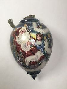 Rare Limited Edition Ne'Qwa Art Ornament The Magic of Christmas Numbered 410/500