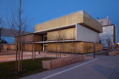 Centro educativo y cultural en Pau, Francia (MHJV architectes) - Finalista 2013.