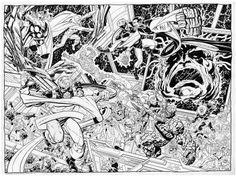 Kree-Skrull War by John Byrne