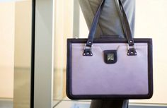 The Ambitionist briefcase in Lilac by Taryn Zhang New York. Check out TZ's collection of women's briefcases and handbags at tarynzhang.com. Briefcase Women, Lilac, Suitcase, Briefcases, Handbags, Purses, York, Accessories, Watches