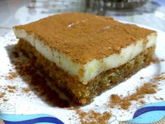 Sweet Recipes, Tiramisu, Recipies, Sweets, Cooking, Ethnic Recipes, Desserts, Food, Greek