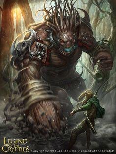 ArtStation - Legend of the Cryptids , VRS N