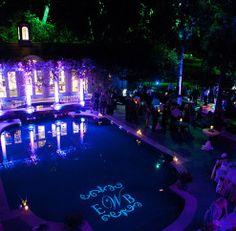 Gobo idea for Pool Area