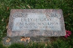 A strange gravestone in a Salt Lake City cemetery is the focus of a curious mystery. What does the eerie epitaph mean? Who requested it... and why?