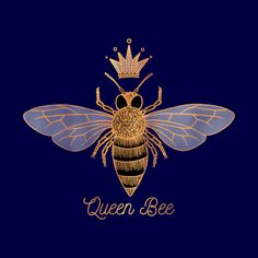 Queen Bee Throw Pillow by Olooriel - Cover x with pillow insert - Indoor Pillow Tatoo Art, Body Art Tattoos, Honey Logo, I Love Bees, Bee Tattoo, Bee Art, Bees Knees, Bee Keeping, Queen Bees