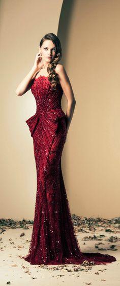Fall-Winter Haute Couture Collection 2013-2014(09) ZIAD NAKAD_解思思 - 美丽鸟