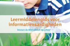 Bibliotheek op school brengt Leermiddelengids uit met basis doorlopende lijn informatievaardigheden voor groep 5 t/m 8 van het primair onderwijs.