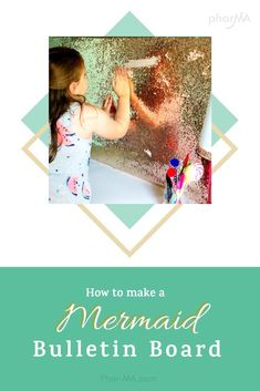 How to Make a Mermaid Sequin Board