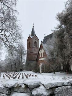 Hauhon kirkko eli Pyhän Johanneksen kirkko Hämeenlinnan Hauholla