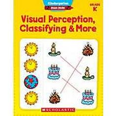 Scholastic Kindergarten Basic Skills: Visual Perception, Classifying & More #Glimpse_by_TheFind