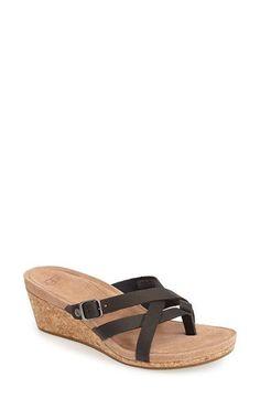UGG® Australia 'Adalie' Wedge Thong Sandal (Women) | Nordstrom