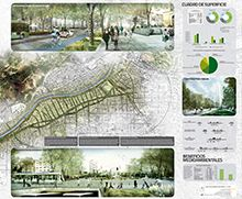 """PROPUESTA """"Estrategia Santiago Sustentable: Un Proyecto de Integración Urbana en Tres Fases"""" : Nueva Alameda Providencia"""