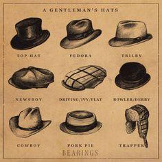 A Gentleman's Hats.