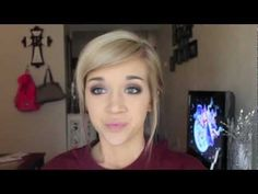 Hair Tutorial: Casual or Fancy Up-do for Short/shoulder-length hair - YouTube