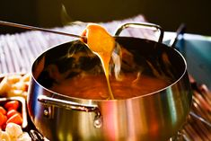 Aged Cheddar Guiness Fondue