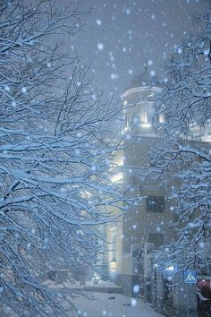 Pin by ana pimentel torpes on winter wonderland зимний снег, Winter Szenen, I Love Winter, Winter Magic, Winter Christmas, Winter Night, Snow Night, Merry Christmas, I Love Snow, Snowy Day