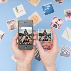 Magnetic mementos from StickyGram. Bring your Instagrams to life!
