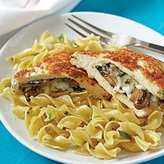 Looking for a new dinner idea? Look no further! This chicken recipe is delicious and easy to prepare. Serve with 3 cups cooked egg noodles tossed with 2 tablespoons butter and green onions.